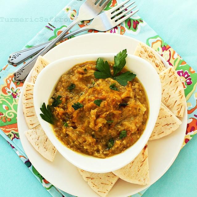 Mirza Ghasemi-Egglant Dip