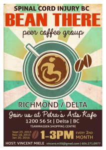 sci, peer, richmond, delta, ladner, support, coffee, group