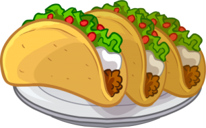 2125501e38ea468e423f85de782aef0c_meat-taco-clipart-on-the-plate-taco-clipart-png-images_500-312