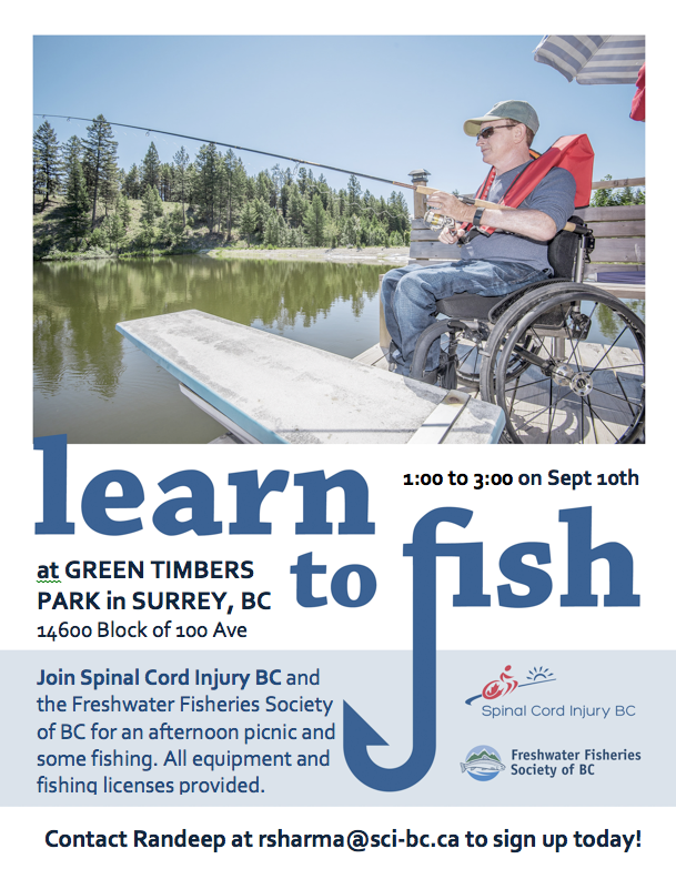 Learn to Fish - Spinal Cord Injury BC