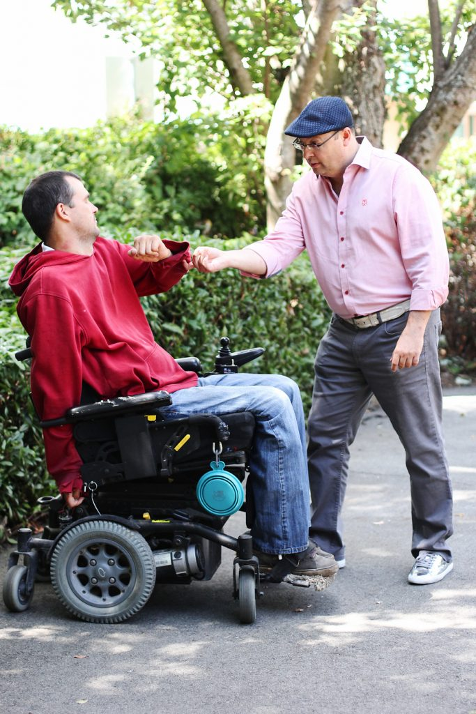 Zero effort steering quadriplegic sexual health