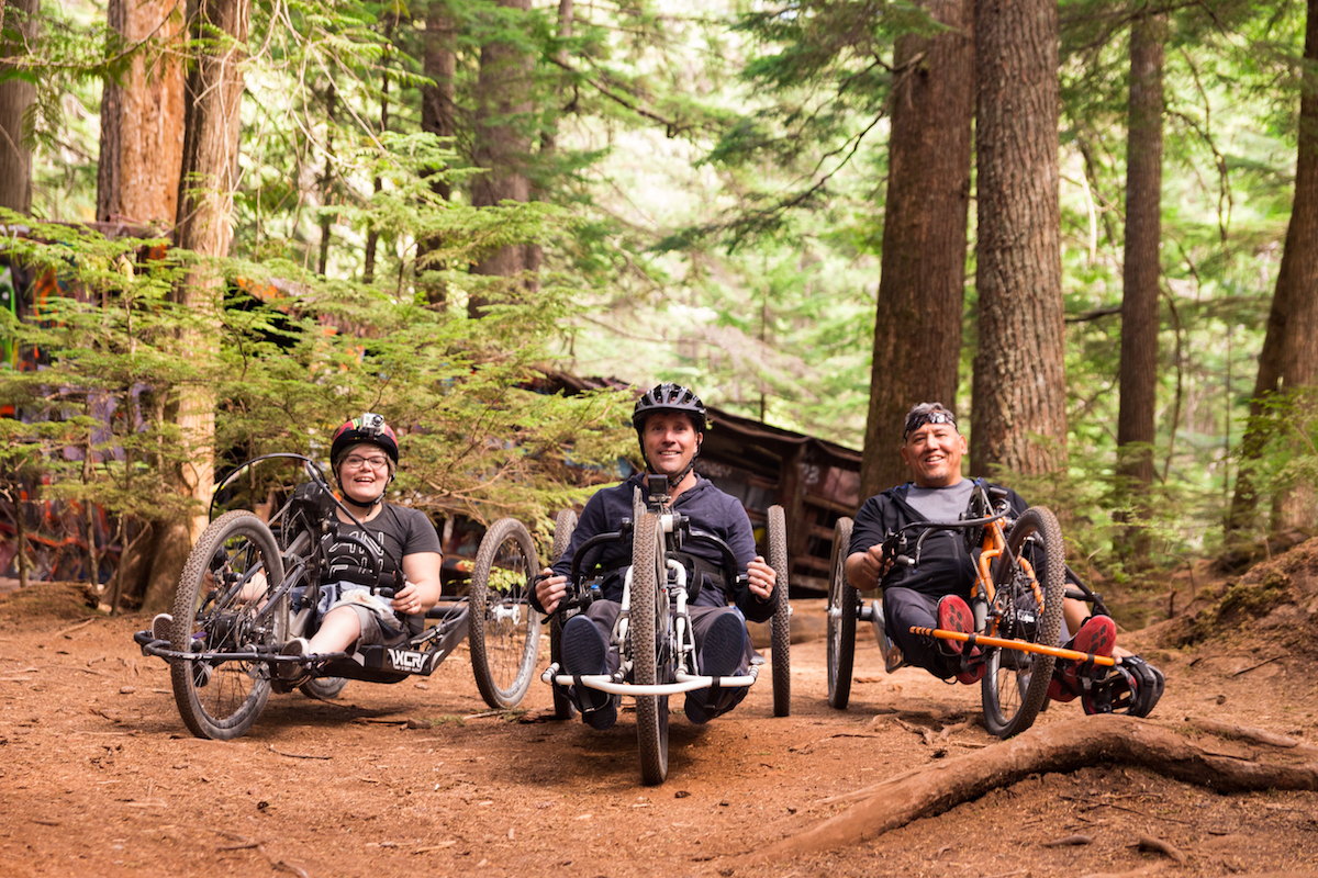Adaptive Adrenaline with SCI BC in Whistler
