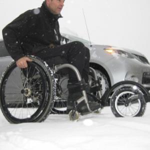 free wheel disability wheelchair user