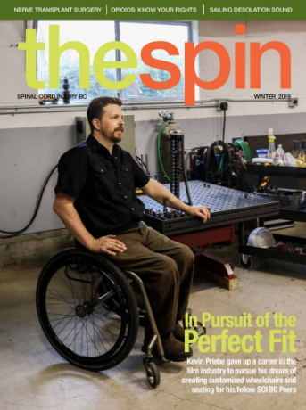 The Spin Cover featuring Kevin Priebe
