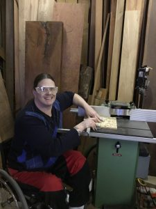 Ron Holmberg woodworking