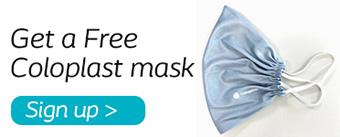 Get a free Coloplast mask