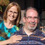 Gordon Jones with his wife Linda