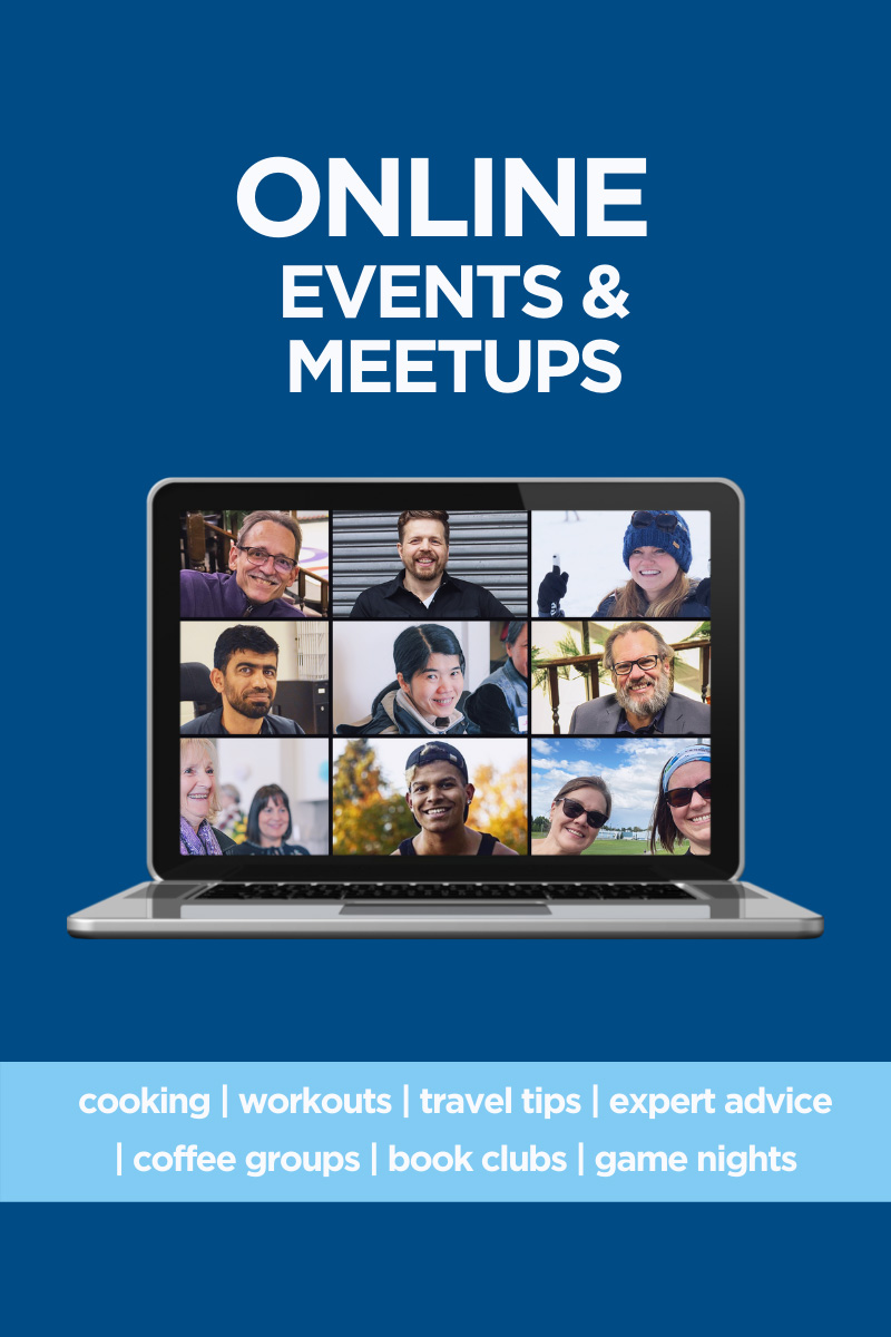Online Events and Meetups