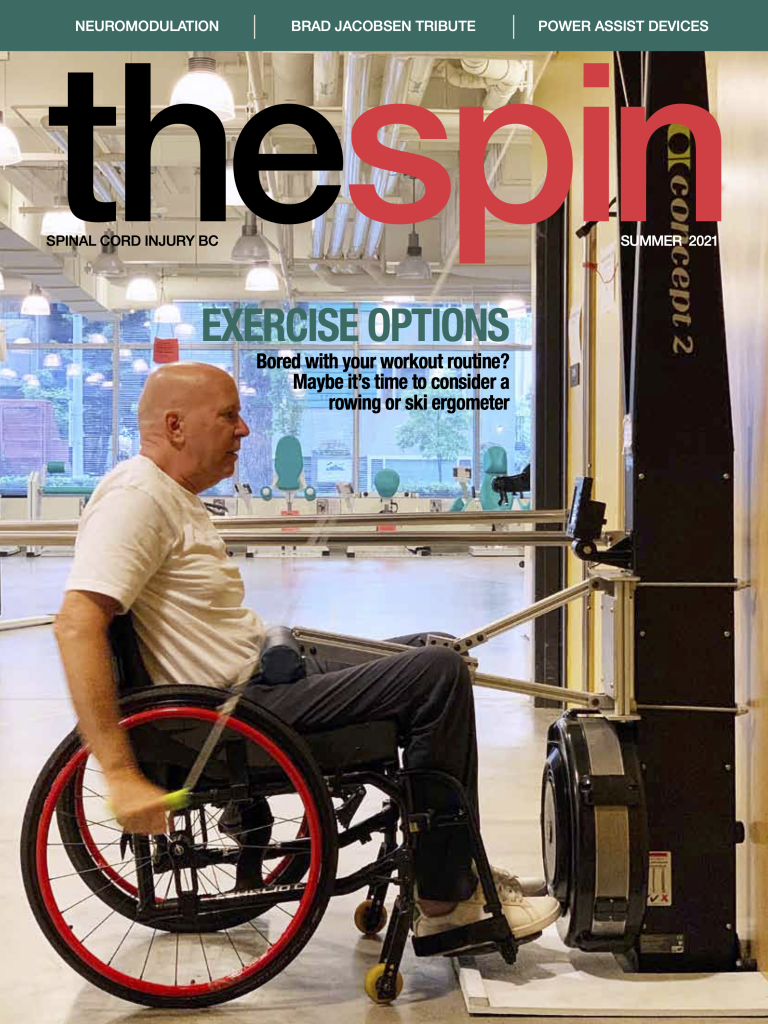 the spin summer 2021 cover photo