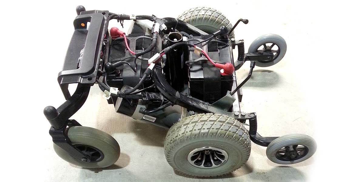 broken power wheelchair