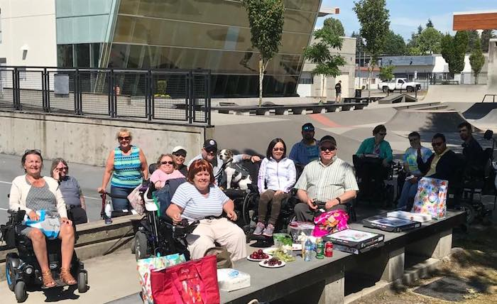 South Fraser Active Living Group's June picnic in Surrey.